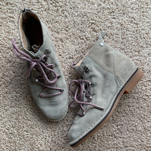 0bd4aa16d0b AMAZING !!!! Hush Puppies Catelyn Suede Hiker Boot